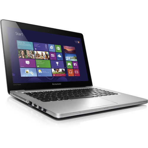 "Lenovo IdeaPad U310 Touch 13.3"" Multi-Touch Ultrabook (Gray)"