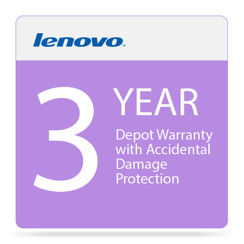 Lenovo 3-Year Depot Warranty with Accidental Damage Protection for ThinkPad W550s Laptop (TopSeller Services)