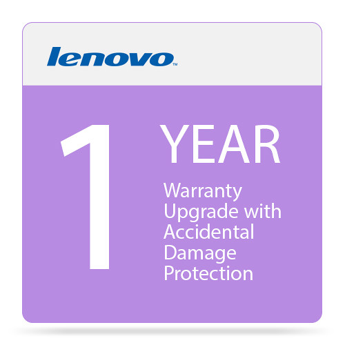 Lenovo 1-Year Warranty Upgrade with Accidental Damage Protection for Select ThinkPad Computers