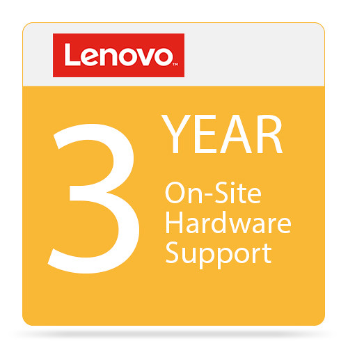 Lenovo 3-Year On-Site Hardware Support