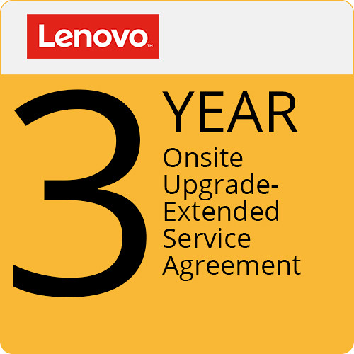 Lenovo 3-Year On-Site Upgrade Extended Service Agreement from 1-Year