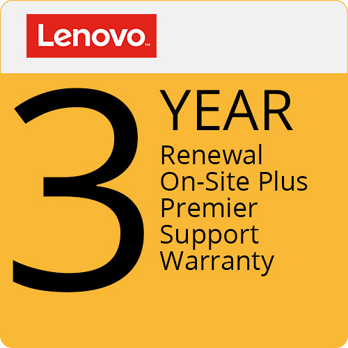 Lenovo 3-Year On-Site Plus Premier Support Warranty Renewal