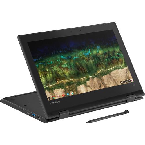 """Lenovo 11.6"""" 64GB Multi-Touch 2-in-1 500e Chromebook"""