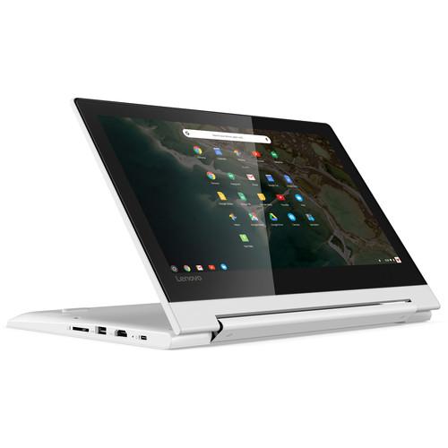 """Lenovo 11.6"""" IdeaPad C330 Multi-Touch 2-in-1 Chromebook (Blizzard White)"""