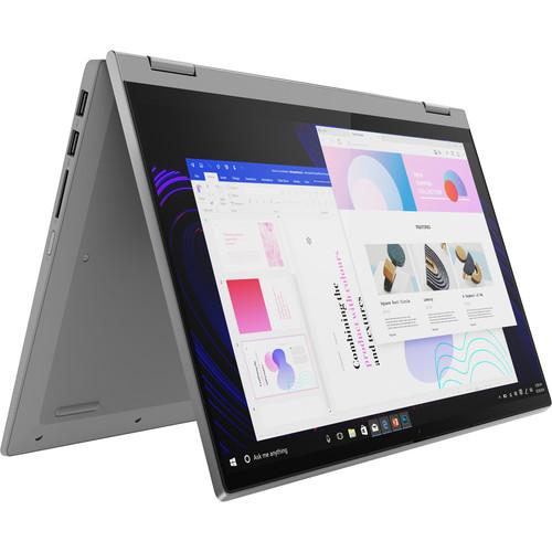 "Lenovo 14"" IdeaPad Flex 5 Multi-Touch 2-in-1 Laptop (Platinum Gray)"