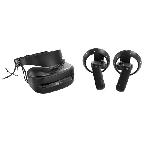 Lenovo Explorer Mixed Reality Headset with Motion Controllers (Iron Gray)