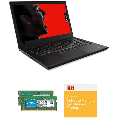 "Lenovo Lenovo 14"" ThinkPad T480 B&H Custom Notebook"