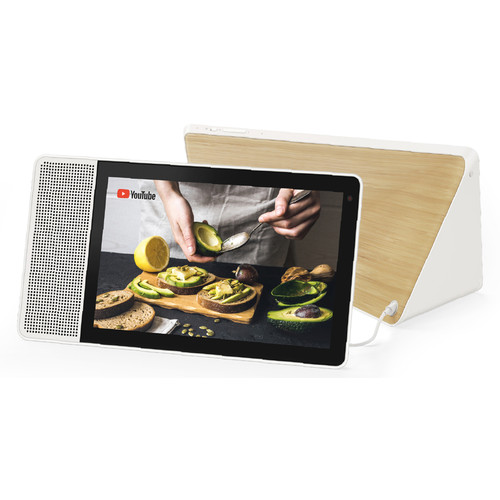 "Lenovo 10.1"" Smart Display (White and Bamboo)"