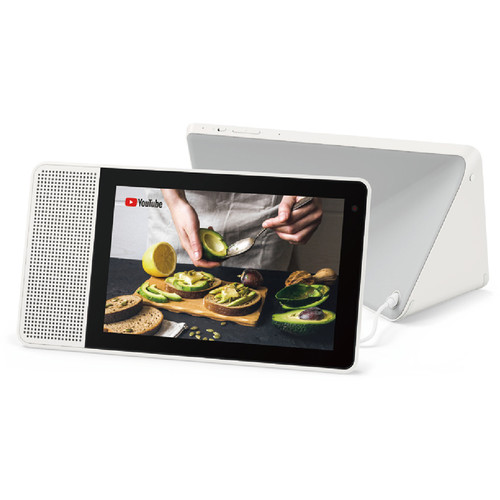 "Lenovo 8"" Smart Display (White and Soft-Touch Gray)"