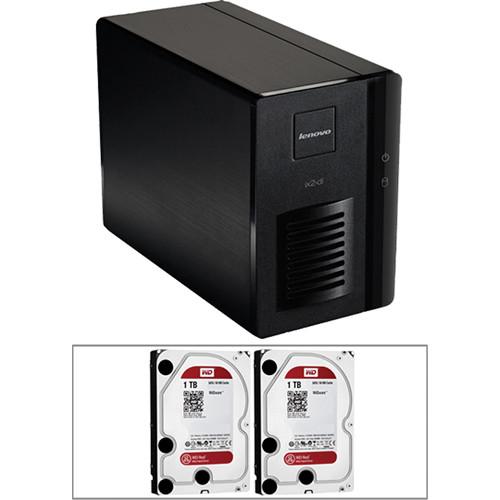 LenovoEMC 2TB (2 x 1TB) Iomega ix2 2-Bay Storage Array