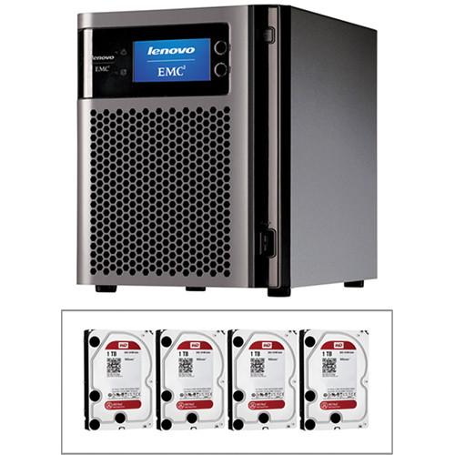 LenovoEMC 4TB (4 x 1TB) px4-300d 4-Bay NAS Storage Array Kit with Drives