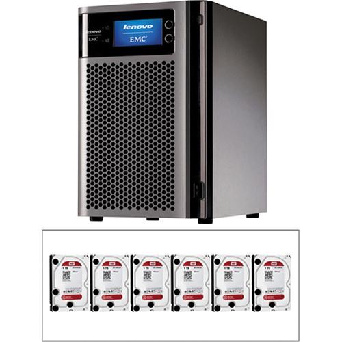 LenovoEMC 6TB (6 x 1TB) px6-300d 6-Bay NAS Storage Array Kit with Drives