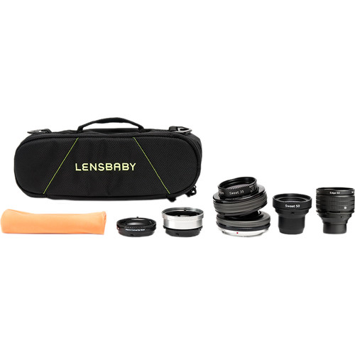 Lensbaby Composer Pro II Optic Swap Kit for Nikon F