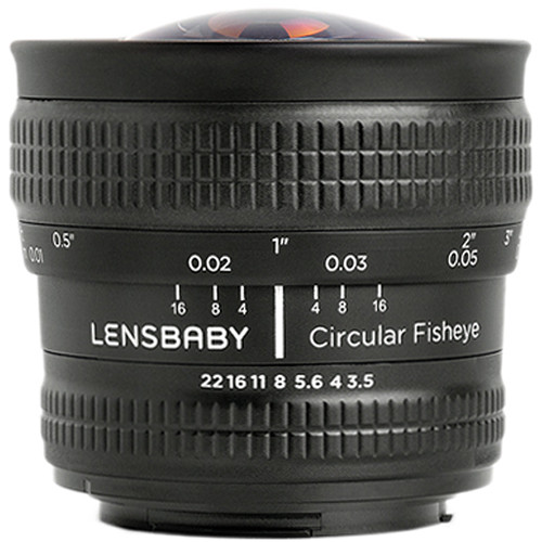 Lensbaby 5.8mm f/3.5 Circular Fisheye Lens for Canon EF