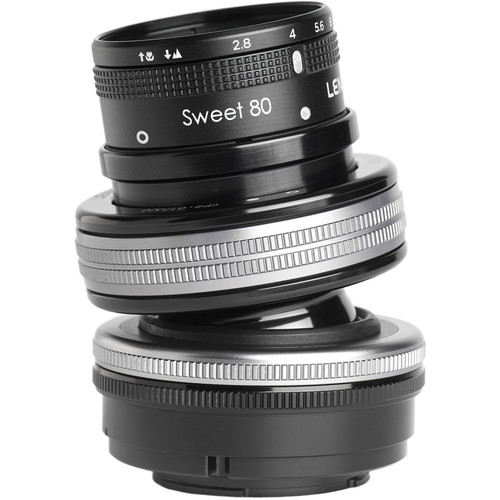 Lensbaby Composer Pro II with Sweet 80 Optic for Fujifilm X