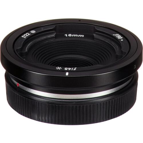Lensbaby Obscura 16mm Mirrorless Pancake Lens for FUJIFILM X