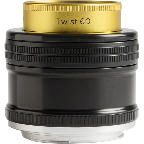 Lensbaby Twist 60 Optic with Straight Body for Canon EF