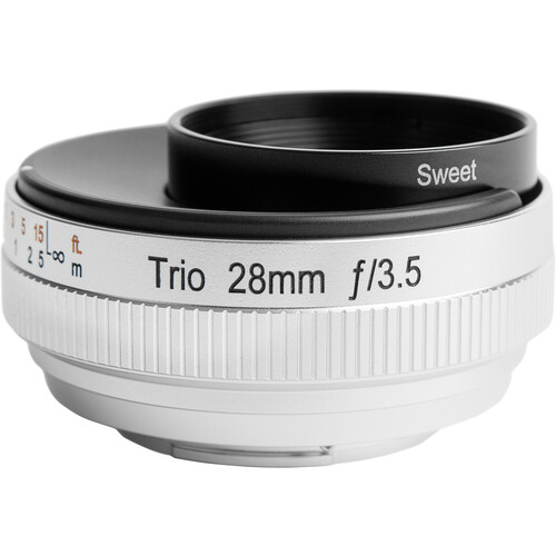 Lensbaby Trio 28mm f/3.5 Lens for Canon EF-M