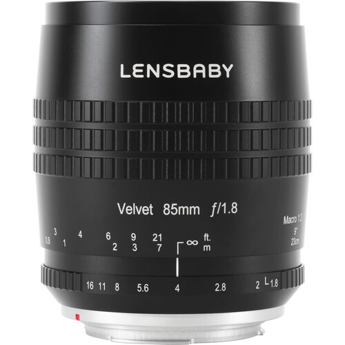 Lensbaby Velvet 85mm f/1.8 Lens for Fujifilm X