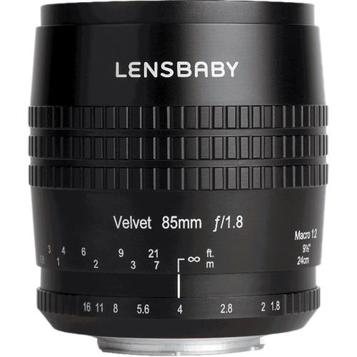 Lensbaby Velvet 85mm f/1.8 Lens for Samsung NX