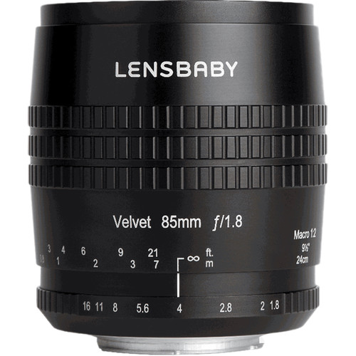 Lensbaby Velvet 85mm f/1.8 Lens for Sony A