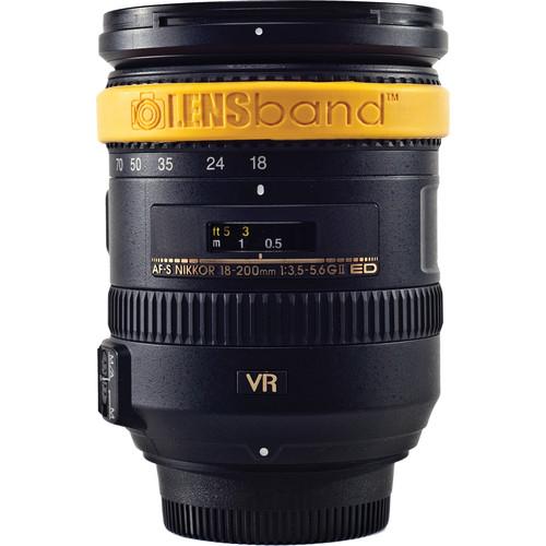 LENSband Lens Band MINI (Yellow)