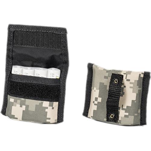 LensCoat BatteryPouch AA 4+4 (2-Pack, Digital Camo)
