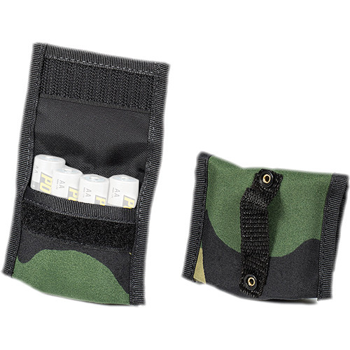 LensCoat BatteryPouch AA 4+4 (2 Pack, Forest Green Camouflage)