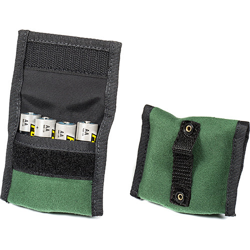 LensCoat BatteryPouch AA 4+4 (2 Pack, Green)