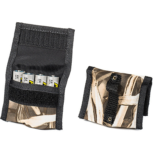 LensCoat BatteryPouch AA 4+4 (2-Pack, Realtree Max4)