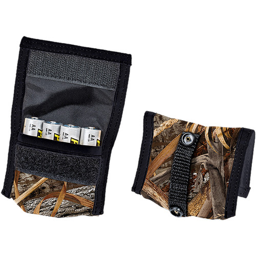 LensCoat BatteryPouch AA 4+4 (2-Pack, Realtree Max 5)