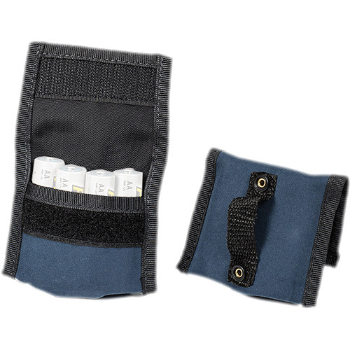 LensCoat BatteryPouch AA 4+4 (2 Pack, Navy)