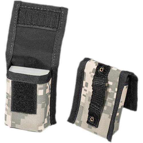 LensCoat BatteryPouch DSLR 1+1 (2-Pack, Digital Camo)