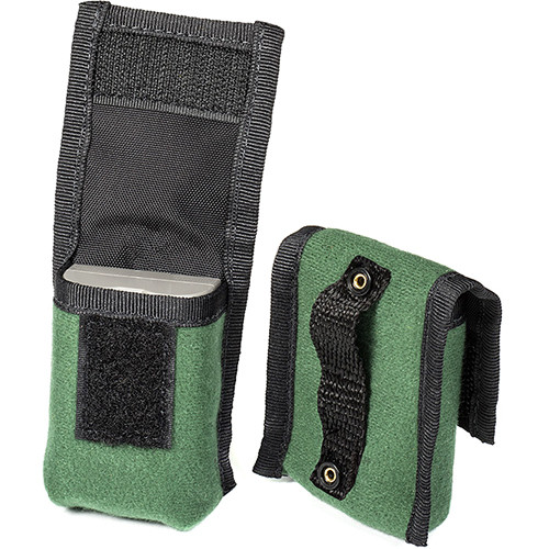 LensCoat BatteryPouch DSLR 1+1 (2-Pack, Green)