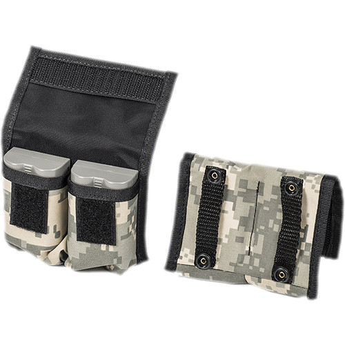 LensCoat BatteryPouch DSLR 2+2 (2 Pack, Digital Camo)