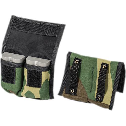 LensCoat BatteryPouch DSLR 2+2 (2-Pack, Forest Green Camouflage)