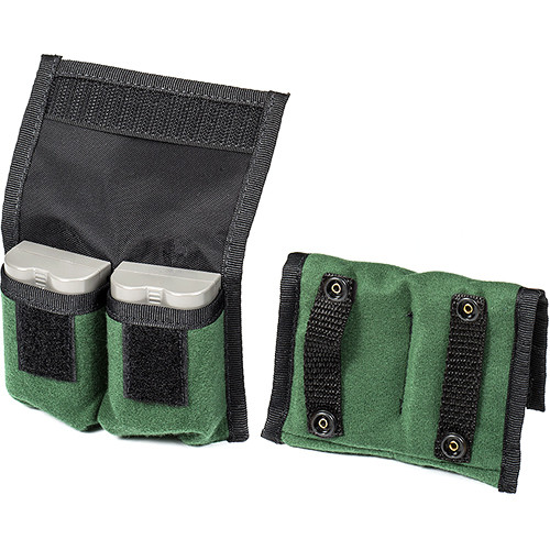 LensCoat BatteryPouch DSLR 2+2 (2 Pack, Green)