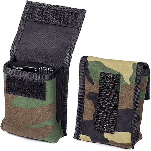 LensCoat BatteryPouch Pro DSLR 1+1 (2 Pack, Forest Green Camouflage)