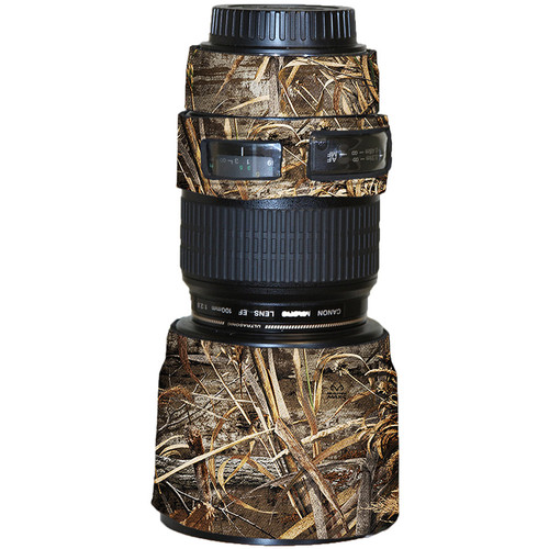 LensCoat Lens Cover for Canon 100mm f/2.8 Macro Lens (Realtree Max5)