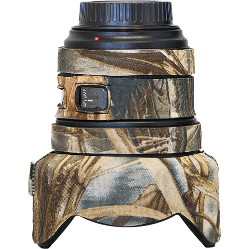 LensCoat Lens Cover for Canon 11-24mm f/4 (Real Tree Max4)