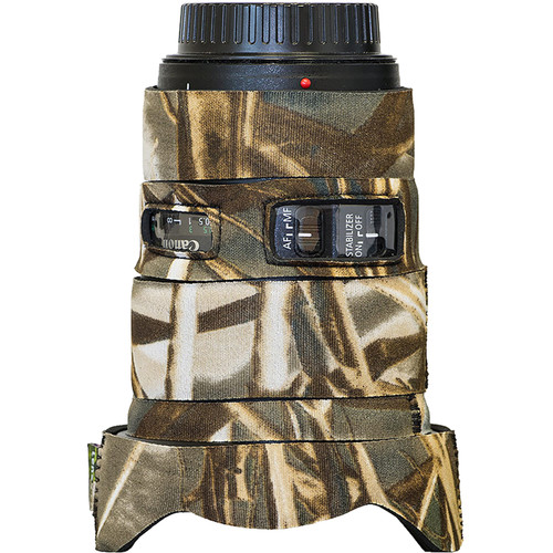 LensCoat Lens Cover for Canon EF 16-35mm f/4L IS USM (Realtree Max4)
