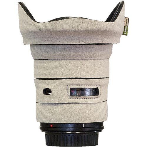 LensCoat Telephoto Lens Cover for Canon 17-40 f/4 (Canon White)