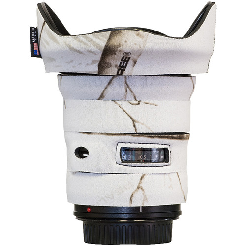 LensCoat Telephoto Lens Cover for Canon 17-40 f/4 (Realtree AP Snow)