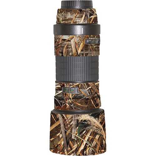 LensCoat Lens Cover for the Canon EF 180mm f/3.5L Macro USM Lens (Realtree Max5)