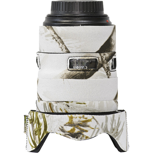 LensCoat Lens Cover for the Canon 24-70mm f/2.8 II Lens (Realtree AP Snow)