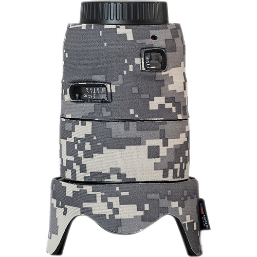 LensCoat Telephoto Lens Cover for Canon 35mm II F1.4 (Digital Camo)