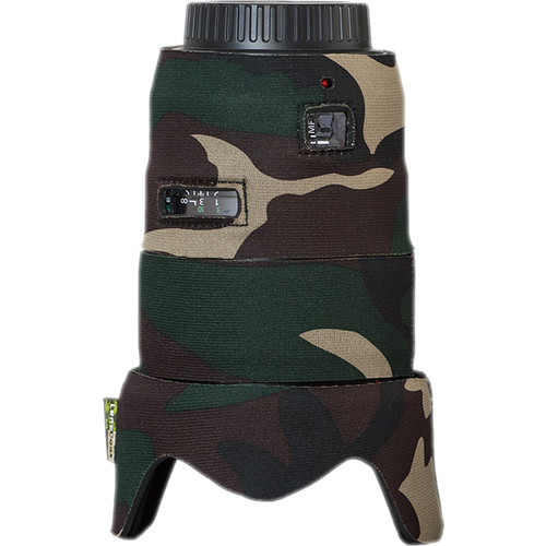 LensCoat Telephoto Lens Cover for Canon 35mm II F1.4 (Forest Green Camo)