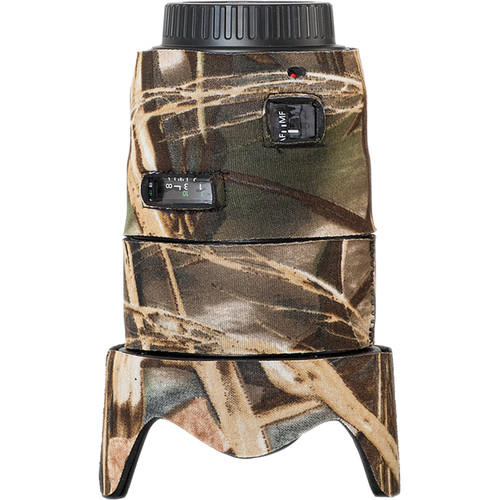 LensCoat Lens Cover for the Canon 35mm II f/1.4 AF Lens (Realtree Max4)