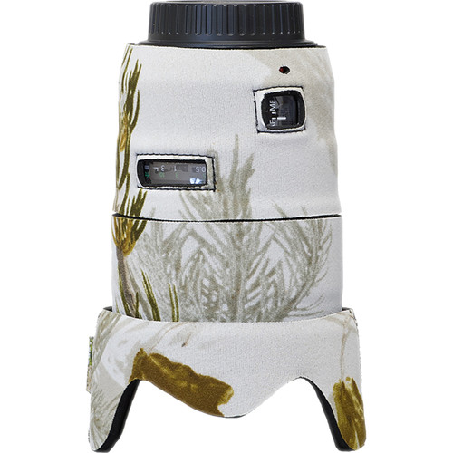 LensCoat Telephoto Lens Cover for Canon 35mm II F1.4 (Realtree AP Snow)