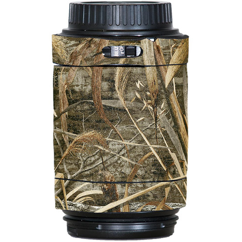 LensCoat Lens Cover for Canon 55-250mm f/4.0-5.6 IS AF Lens (Realtree Max5)